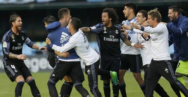 Real Madrid venció al Celta de Vigo por 4 a 1