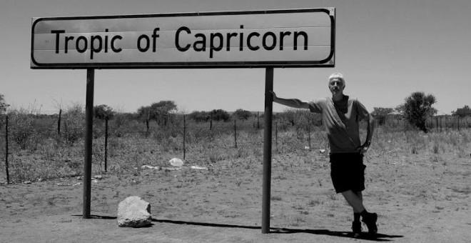 El autor de 'Tierra', en Namibia. / FOTO: XURXO MARIÑO
