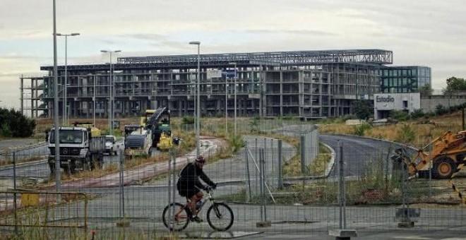 El Centro Acuático construido para las olimpiadas de Madrid / EFE