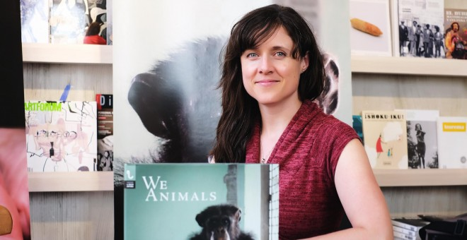 La fotógrafa Jo-Anne McArthur, autora de 'We Animals'. / JAVIER GAMONAL