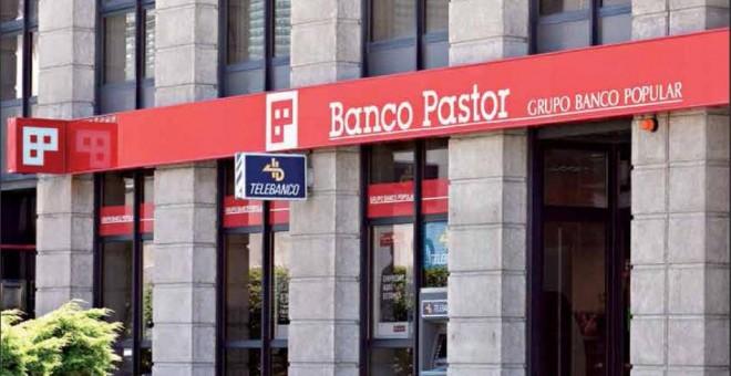 Oficina de Banco Pastor.