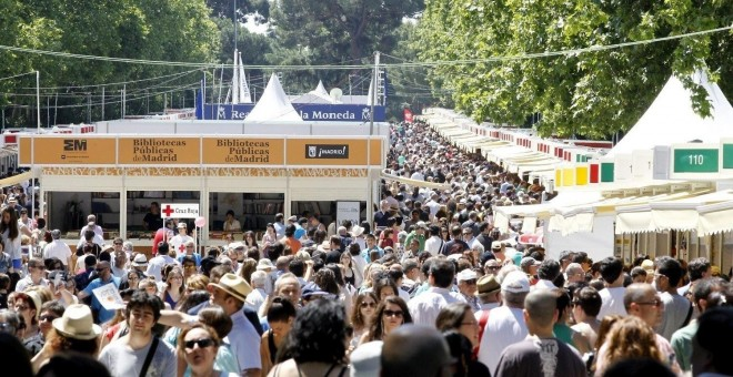Feria del Libro de Madrid 2017. EUROPA PRESS