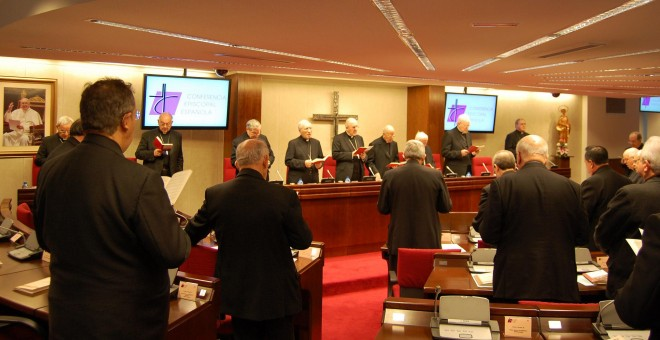 Última asamblea plenaria de la Conferencia Episcopal.