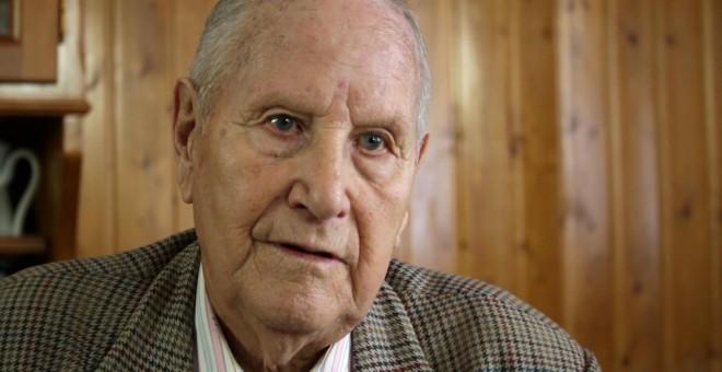Camilo de Dios, en el documental 'Camilo: o último guerrilleiro de Galicia'
