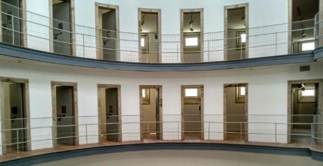 La vieja cárcel de Lugo, tras la reforma.