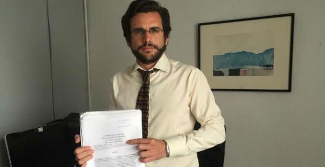 El abogado especializado en Memoria Histórica Eduardo Rnaz
