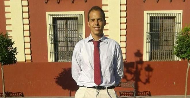 Uno de los jóvenes en paro de Sevilla, Francisco Moreno