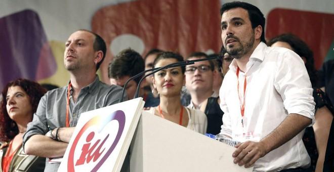 Ernesto Alba toma el control del PCA para fusionar IU con Podemos. EFE