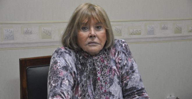 La jueza María Romilda Servini de Cubría en su despacho. ANA DELICADO PALACIOS