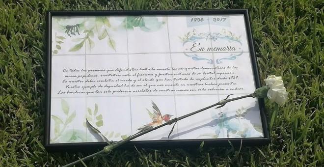 Homenaje del 81 aniversario de la matanza de Badajoz. / B.A.