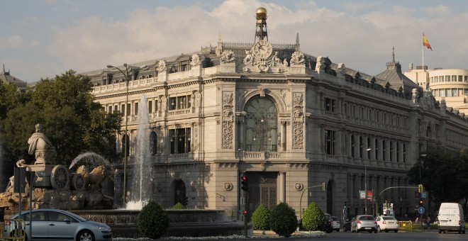 Fachada del Banco de España. Wikipedia