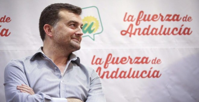 El coordinador regional de IU, Antonio Maíllo. EFE