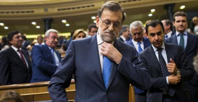 Imagen de archivo del presidente del Gobierno, Mariano Rajoy, que fue llamado el pasado julio a declarar como testigo del casoGürtel, la mayor trama de corrupción política en España / AP