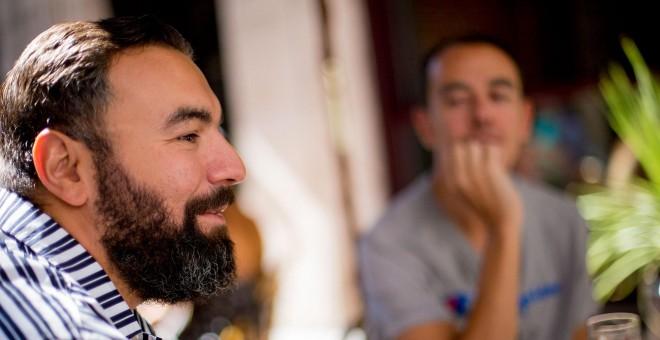 Rober Bodegas y Alberto Casado. / FOTO: CHRISTIAN GONZÁLEZ