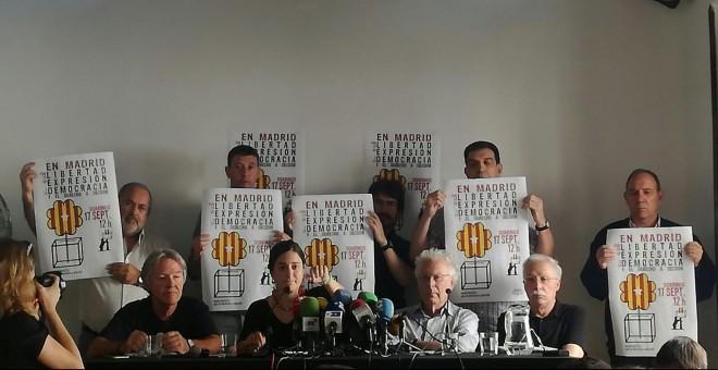 'Madrileños por el derecho a decidir' acusan al juez de 'excederse' y lo vinculan con el PP. B.A.