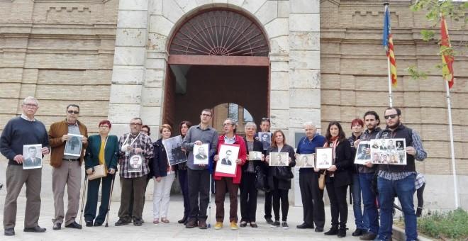 Asociación de Familiares de Víctimas del Franquismo de la fosa 113 de Paterna. EUROPA PRESS