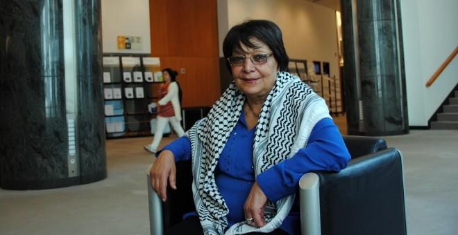 Leila Khaled./ PÚBLICO