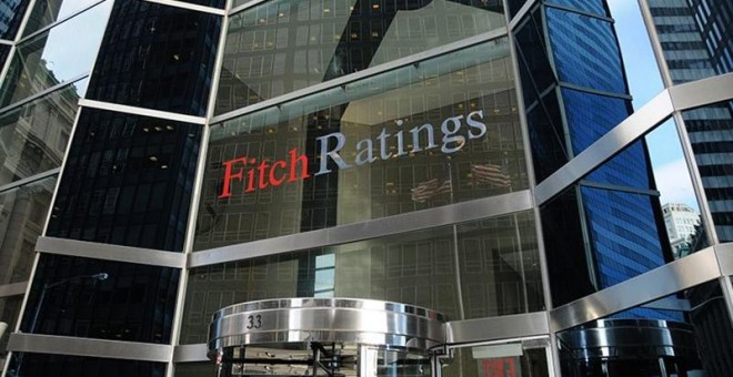Sede de la agencia de 'rating' Fitch en Nueva York.