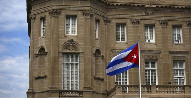 La Embajada de Cuba en Washington. REUTERS/Carlos Barria