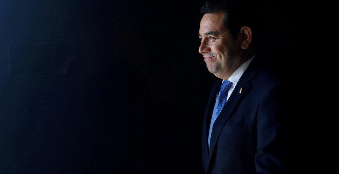 Jimmy Morales, presidente de Guatemala. /REUTERS