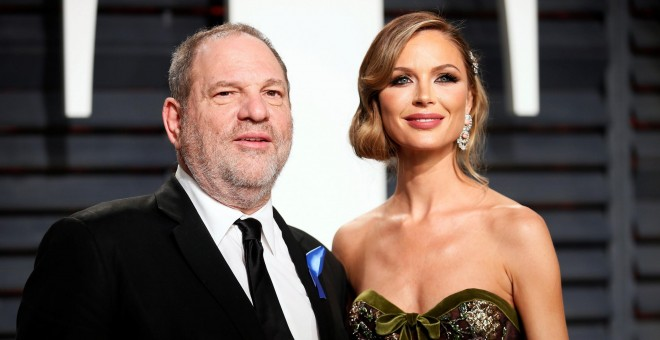 Harvey Weinstein y su mujer Georgina Chapman./REUTERS