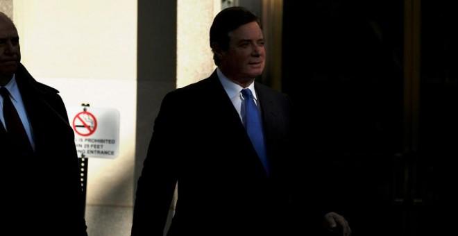 Manafort sale del tribunal este lunes. REUTERS/James Lawler Duggan