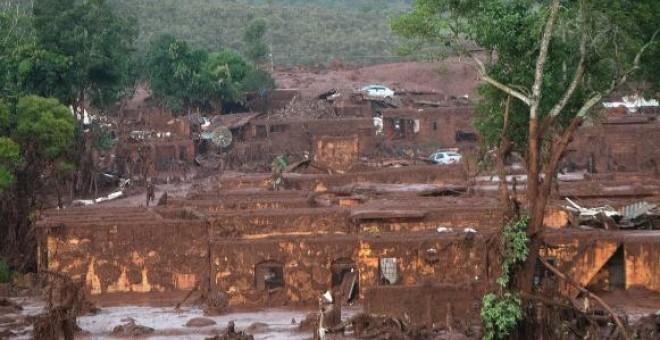 Se cumplen dos años del accidente de Samarco, la mayor tragedia medio ambiental de Brasil. EFE/Neno Vianna