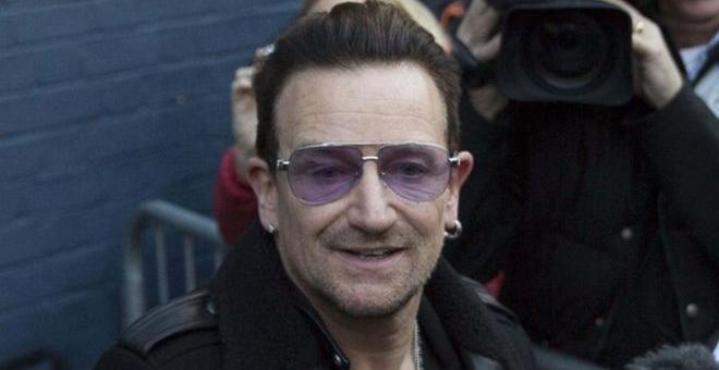 Bono, líder de U2. REUTERS