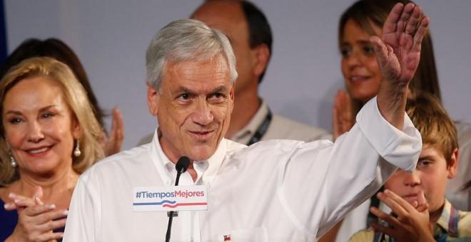 El expresidente de Chile y candidato presidencial de la coalición Chile Vamos, Sebastián Piñera.- EFE