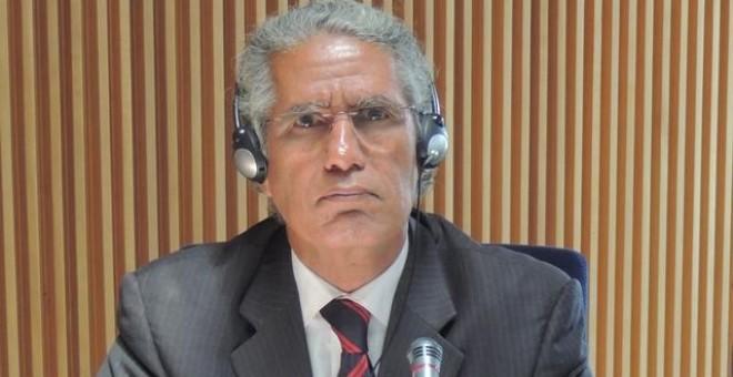 El ministro de Exteriores saharaui, Mohamed Salem Uld Salek.