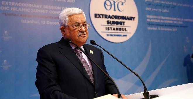 El presidente de Palestina, Mahmud Abás. - EFE