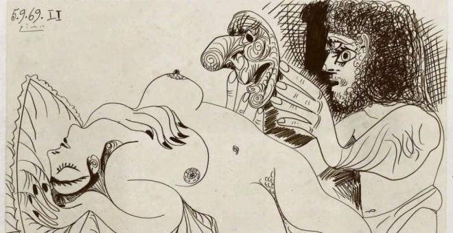 El año que Picasso pintó con el falo