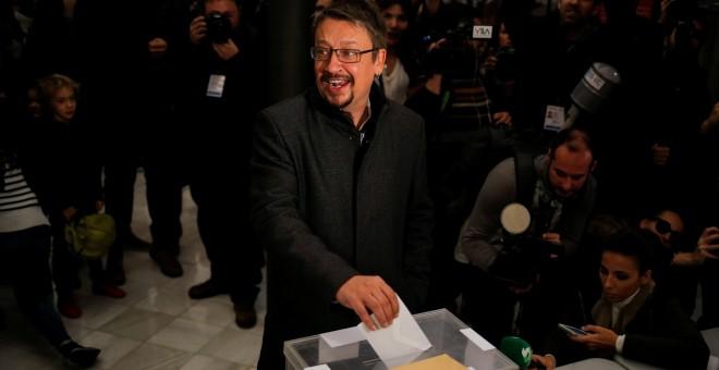 Vota el candidato al Parlament por Catalunya en Comú, Xavi Domenech. / Reuters