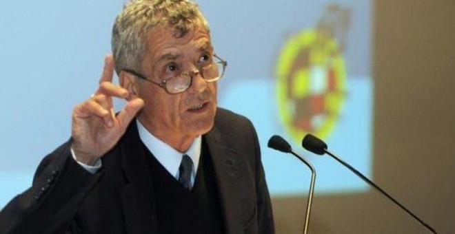 Ángel María Villar, presidente de la RFEF. EFE/Archivo