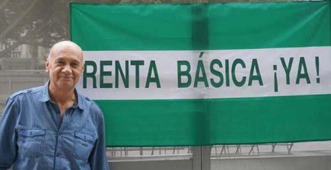 Paco Vega, del colectivo Renta Básica Andalucía./Público