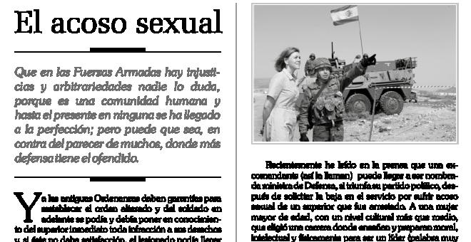 Artículo sobre la Unidad de Protección contra el Acoso y Zaida Cantera de la AME.
