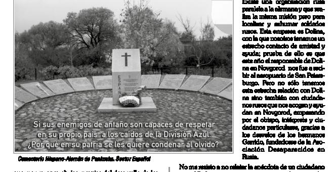 Crónica del Foro de Amigos de la División Azul en 'Militares', la revista de la AME.