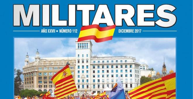 'Militares', la revista ultra editada por la Asociación de Militares Españoles (AME).