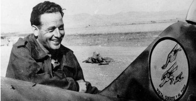"""Joaquín García Morato, denominado por el Ejército del Aire como """"héroe indiscutible""""."""