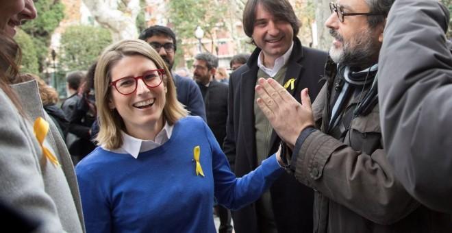 La portavoz parlamentaria de JxCat, Elsa Artadi. - EFE