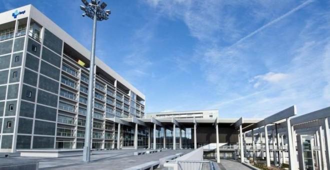Edificio del Hospital Universitario de Burgos (HUBU).