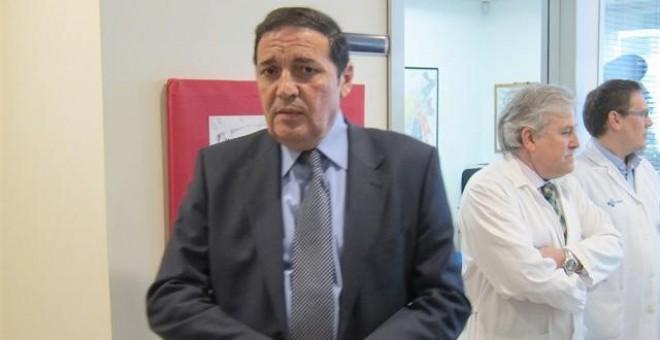 Antonio María Sáez Aguado consejero de Sanidad de Castilla y León.