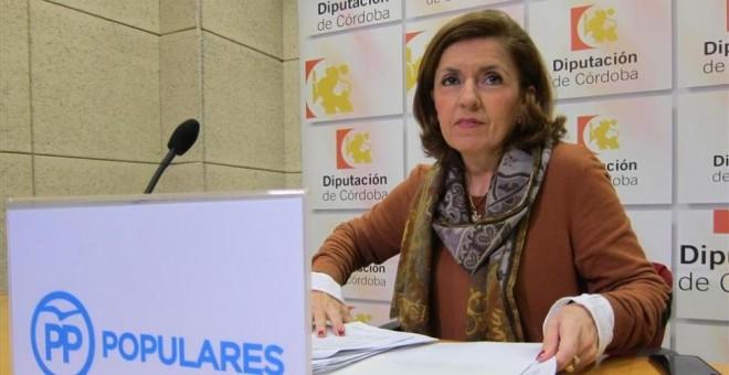 María Jesús Botella, concejala del PP en el Ayuntamiento de Córdoba.