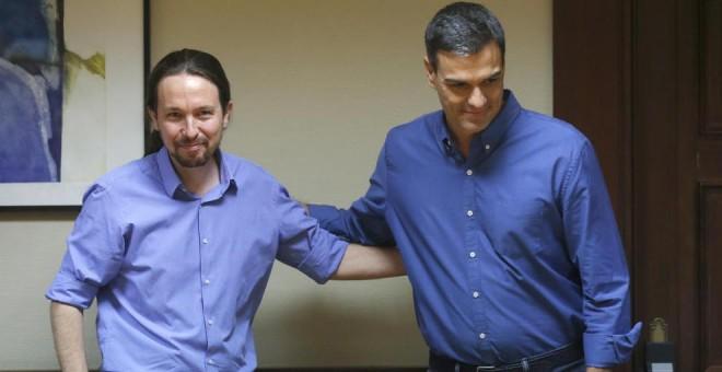 Resultado de imagen de El Gobierno y Podemos, cerca de cerrar un acuerdo para los Presupuestos de 2019