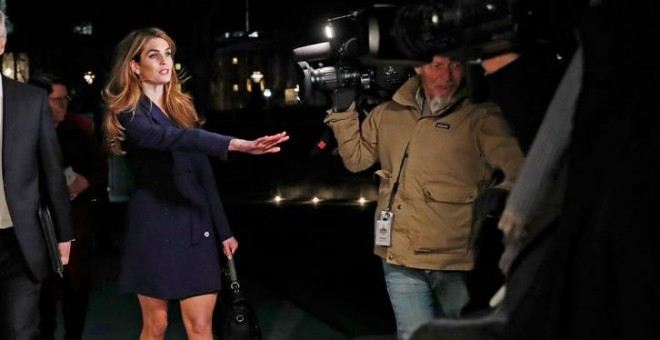 Hope Hicks, este martes en Washington. REUTERS/Leah Millis