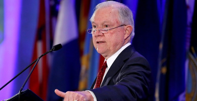 El fiscal general estadounidense, Jeff Sessions. REUTERS/Archivo