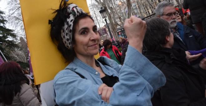 Manifestación feminista del 8M en Madrid. / J. GÓMEZ