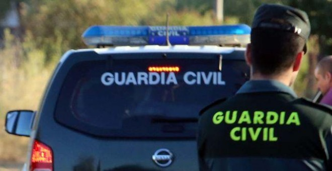 Un agente de la Guardia Civil. ARCHIVO