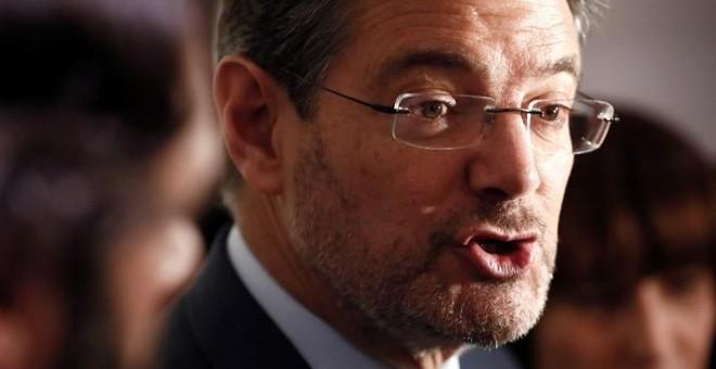 El ministro de Justicia, Rafael Catalá, en una imagen reciente. EFE/Mariscal