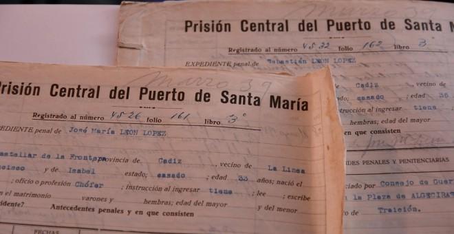 Documentación requerida a los presos en la cárcel del Puerto de Santa María. / Relatoras Producciones